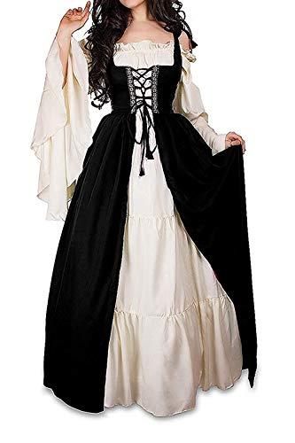 Womens Renaissance Blouse Off Shoulder Trumpet Sleeve